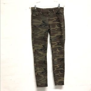 Lucky Brand Camouflage Charlie Super Skinny Jeans